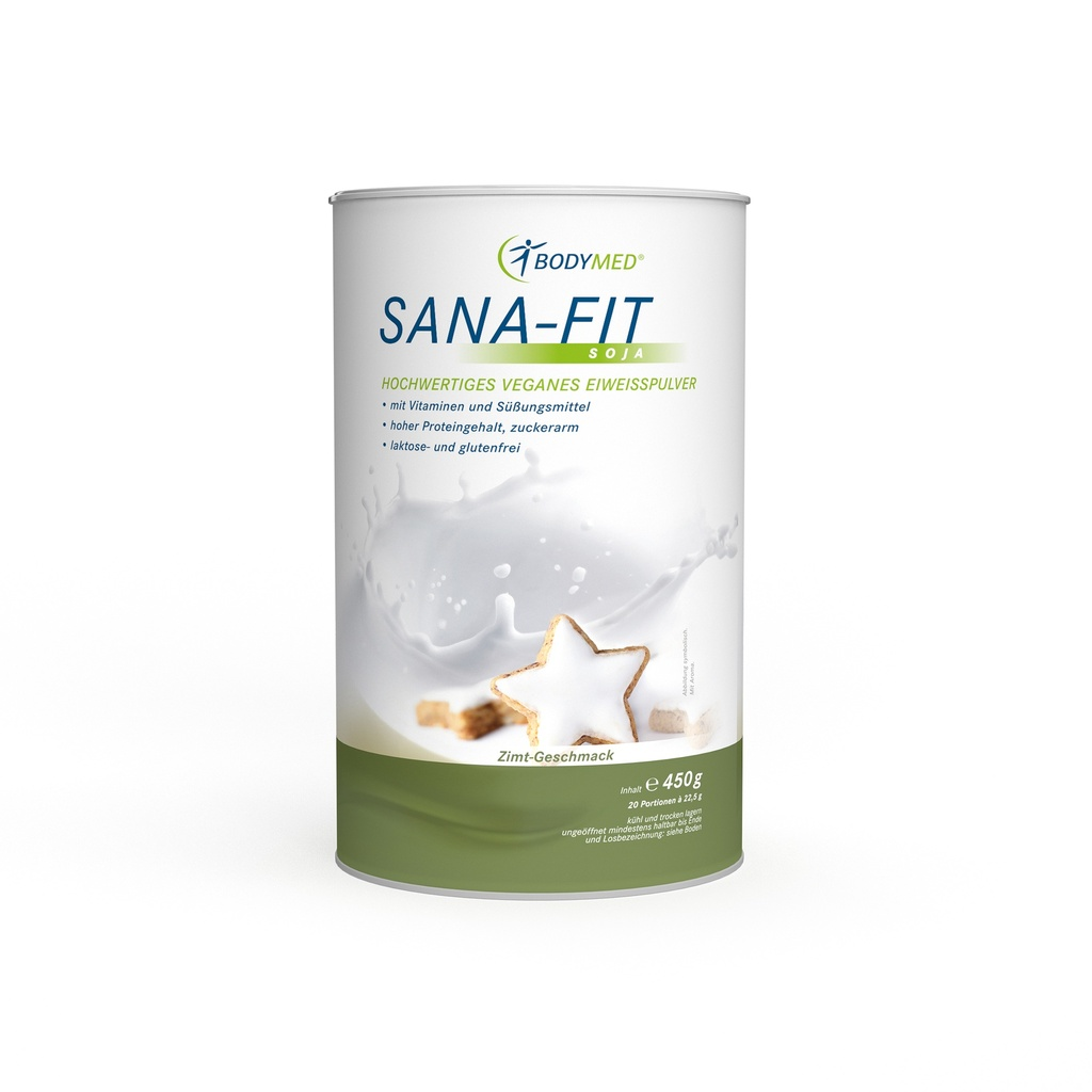 Bodymed SANA-FIT Soja Zimt Vegan